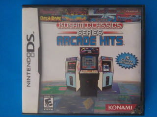 Konami Classics Series Arcade Hits Ds Nintendo Contra Trqs