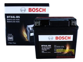 Bateria Moto Bosch Btx4l-bs Ytx5l-bs Nxr 125 Bros Cg 150 Biz