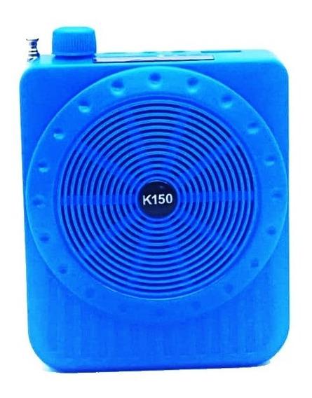 Amplificador Megafone Microfone P/professores C/ Fm Radio