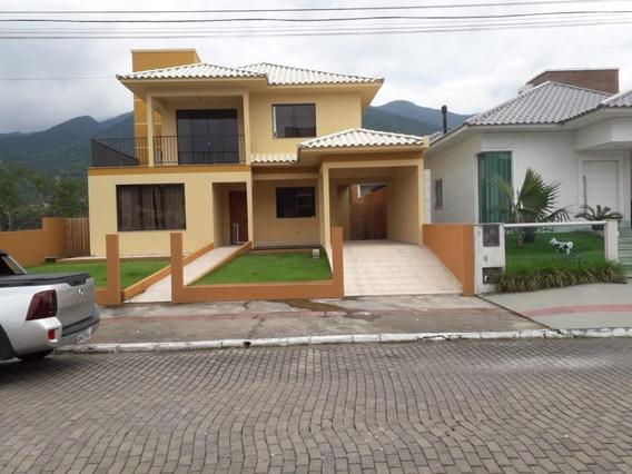 Casa Em Praia De Fora, Palhoça/sc De 230m² 5 Quartos À Venda Por R$ 580.000,00 - Ca187692