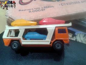Matchbox Cegonheira Antigo Carrinho Metal 1978 Ótimo