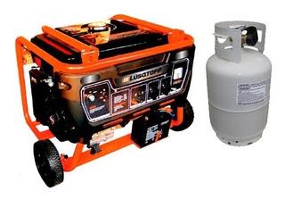 Grupo Electrogeno Generador Gas Naftero 3500w 6,5hp Rex