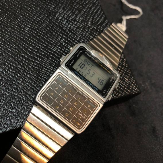 Relógio Casio Retrô Com Calculadora Original