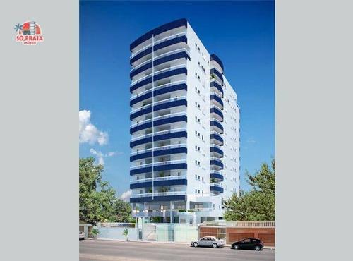 Cobertura Com 3 Dormitórios À Venda, 118 M² Por R$ 680.000,00 - Tupi - Praia Grande/sp - Co0027