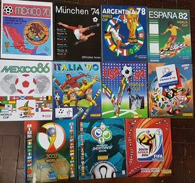 11 Album Figurinhas Copa Do Mundo Panini 1970 A 2010 Reprint