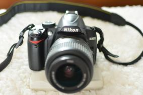Nikon D3000 + Lente 18-55mm + Case