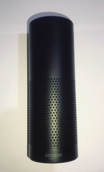 Caixa De Som Amazon Echo Alexa 1a Gen Preto - Usado