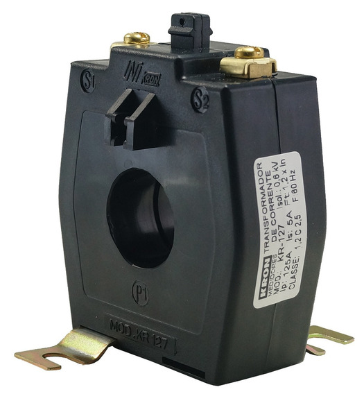 Transformador De Corrente 150/5a Kr 127 Kron C/caixa Novo