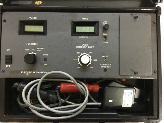 Analisador De Diagnóstico De Baterias E Sistema Elétrico
