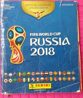 Álbum Completo Da Copa Do Mundo Na Russia - Capa Simples