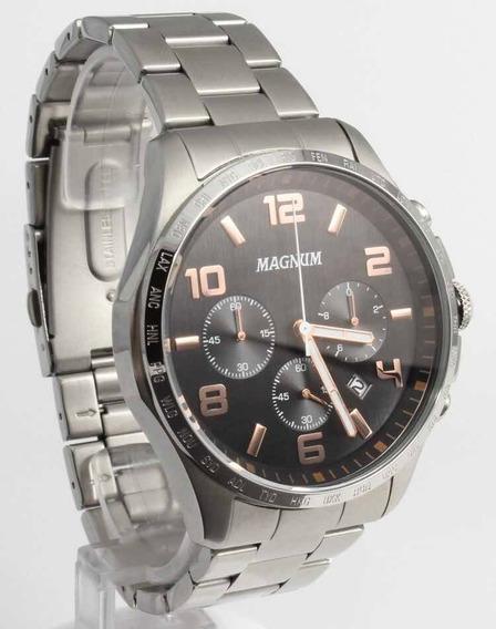 Relógio Magnum Ma34441t - Original Com Nota