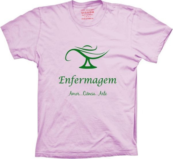Camiseta Silk Profissão Enfermagem