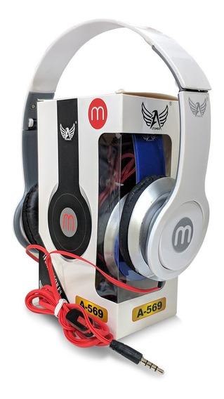 Fone Retrátil Modelo Beats De Fio E Microfone Pronta Entrega