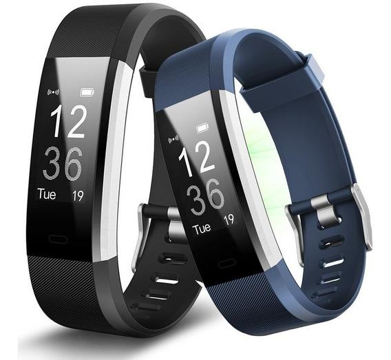 Reloj Smartband Id115 Plus Brazalete Ritmo Cardiaco Calorias