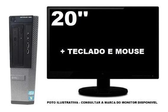 Computador Dell Optiplex 9010 Intel I3 8gb 240ssd -semi Novo