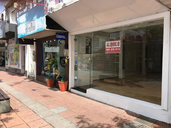 Alquilo Local Comercial Centro De Maldonado