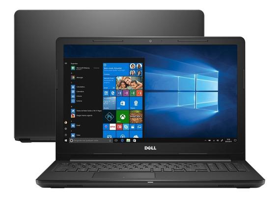 Notebook Dell Intel Core I3 4gb Tela 15 Windows 10 - Novo