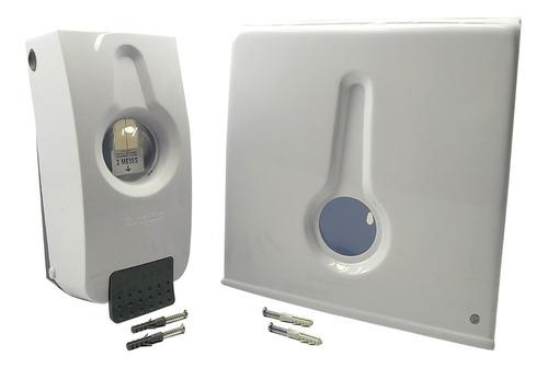 Kit Disp. De Toalla Cuadrado+ Disp. De Jabón De Lujo P/ Baño