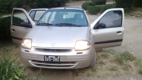 Renault Clio 1.9 Rnd Aa Pack Unico Dueño Con 150000 Kms Real