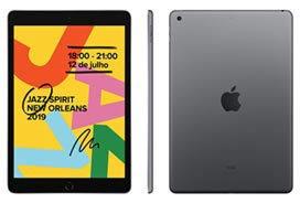 iPad Apple Cinza 10,2 , Wi-fi, Ipados, A10 Fusion E 128gb