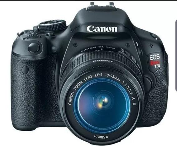 Câmera Canon Rebel T3i + Lente 18-55mm + Cartão 16gb Sony