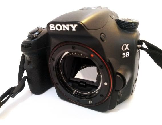 Sony A58 - Dslr Profissional - 20.1 Mp - Fullhd