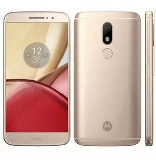 Peças Celular Moto M Dourado