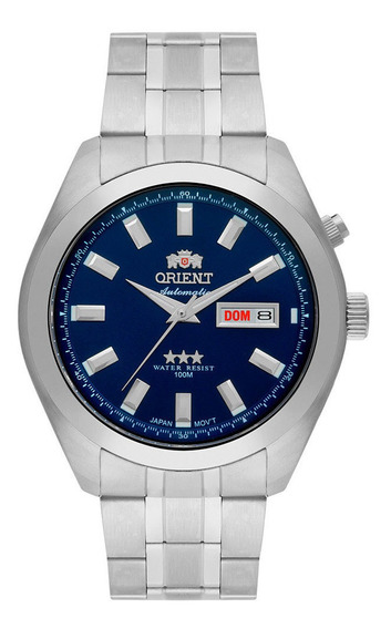 Relógio Orient Masculino Ref: 469ss075 D1sx Diãmetro 43mm