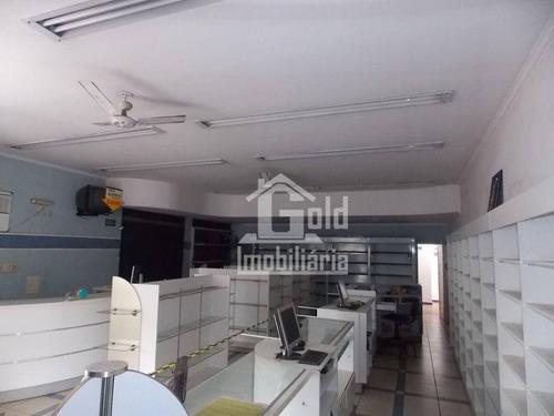 Imagem 1 de 11 de Salão Para Alugar, 160 M² Por R$ 5.300,00/mês - Jardim Paulista - Ribeirão Preto/sp - Sl0277