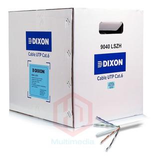 Cable Utp Dixon Lszh Cat6 9040