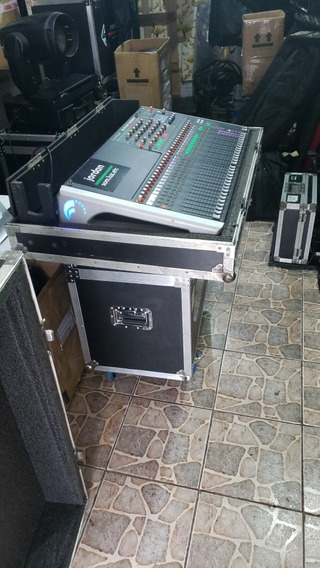 Mesa De Som Digital Soundcraft Si Performer 3 32 Canais