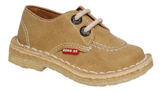 Zapato Colegial Acordonado Numeración 18/26 - Aer191