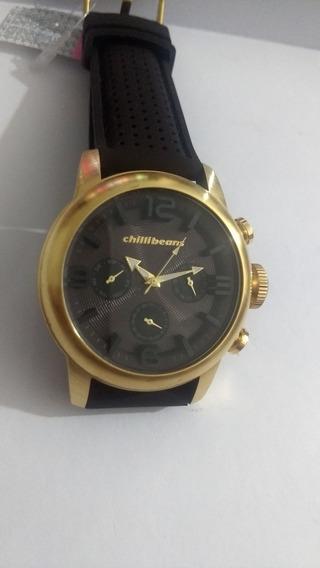 Relógio Chillibeans Dourado Top