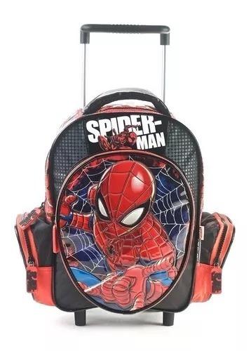 Mochila Spiderman 12 PuLG Carro 82366 Cuerpos Didacticos