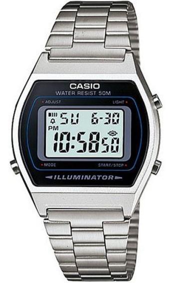 Relogio Unissex Casio Digital Vintage - B640wd-1avdf - Prata