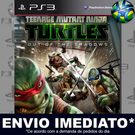 Teenage Mutant Ninja Turtles Out Of The Shadows Ps3 Psn