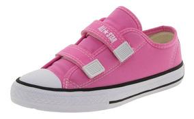 Tênis Infantil Feminino Core 2 Straps Pink Converse - 206a