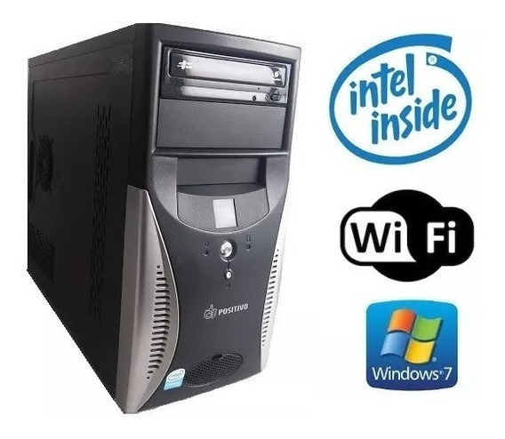Computador Intel 2.20ghz Wifi 775 80gb Sata
