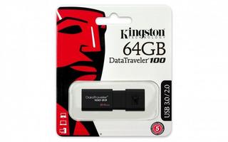 Memoria Usb 3.1 64gb Kingston Data Traveler 100 G3
