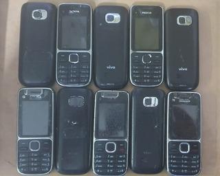 10 Nokia C2 01 3g Somente Vivo+ Carregador Original