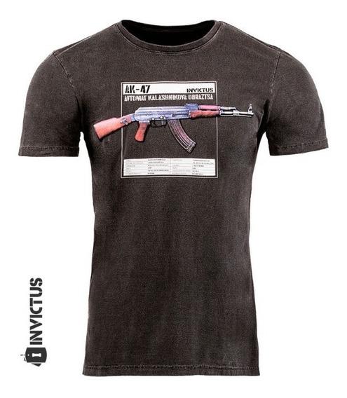 Camisa 100% Algodão Estampada Invicuts Concept Kala Original