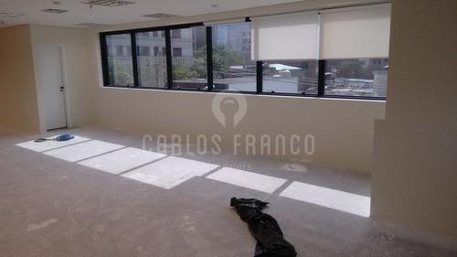 Conjunto Comercial Com 146m2  Proximo A Av.eng.luiz Carlos Berrini - Cf12744