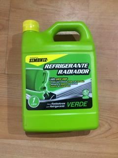 Refrigerante Para Radiador Simoniz Qualitor Verde Litro
