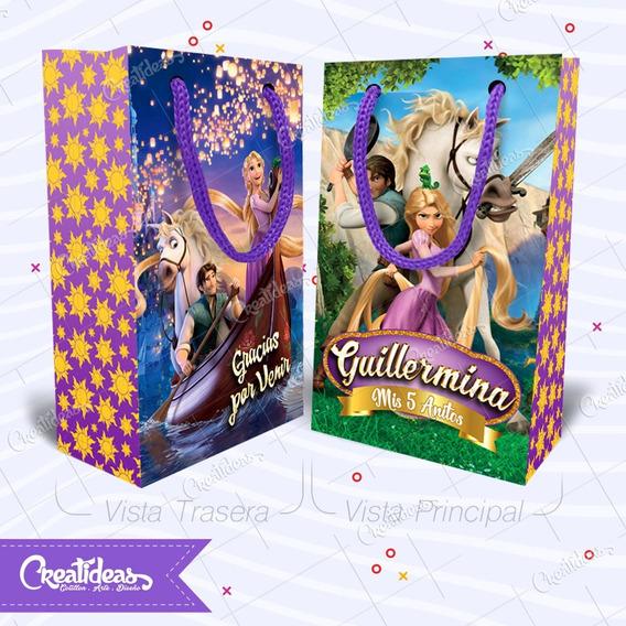 Rapunzel Enredados Tangled Bolsitas Personalizadas Pack X30