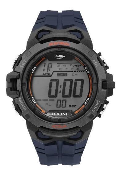 Relógio Masculino Wave Digital Mo1147a/8a 12x Sem Juros E Nf