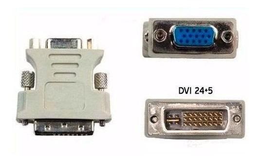 Convertidor Vga A Dvi 24+5