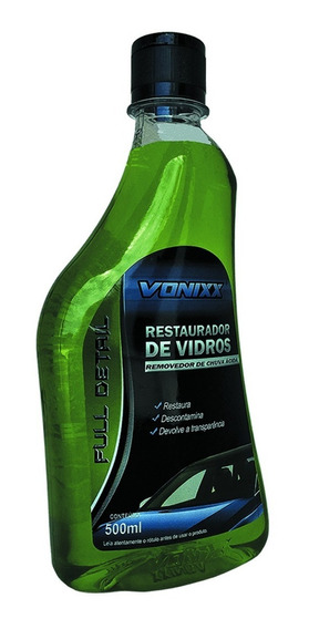 Removedor De Chuva Ácida Vonixx Restaurador De Vidro 500ml