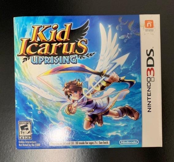 Kid Icarus Uprising - Nintendo 3ds - Exclusivo - Sem Stand
