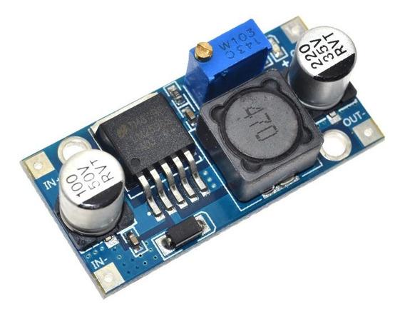 Regulador De Tensão Step Down Buck Dc-dc Lm2596 3a-cod.19