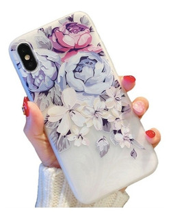 Funda Textura + Mica Cristal Templado Para Samsung Galaxy